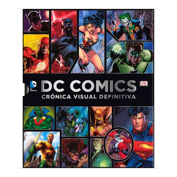 DC COMICS CRONICA VISUAL DEFINITIVA (libro en Espanol)