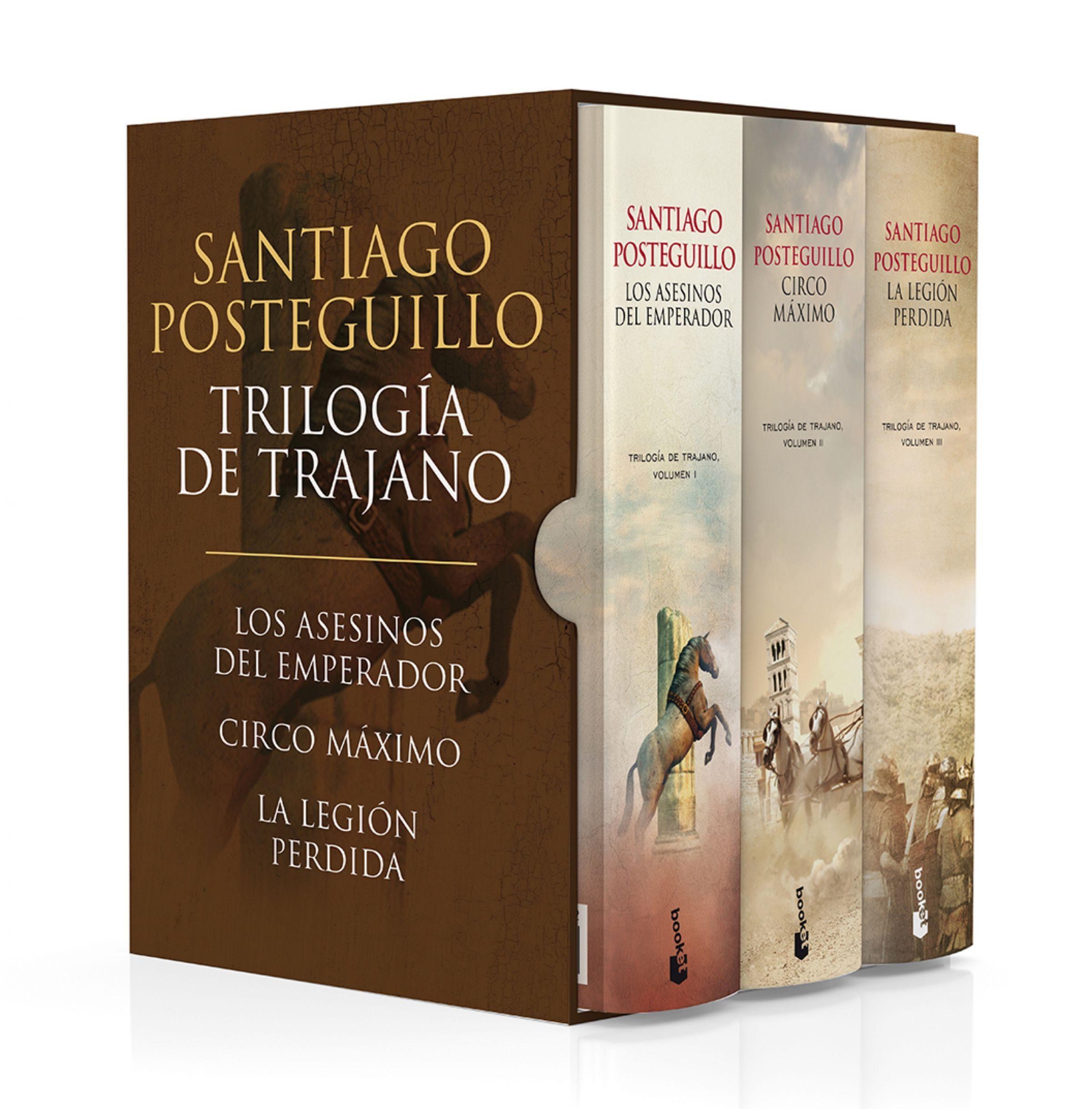 Estuche Trilogía de Trajano - Santiago Posteguillo - Planeta