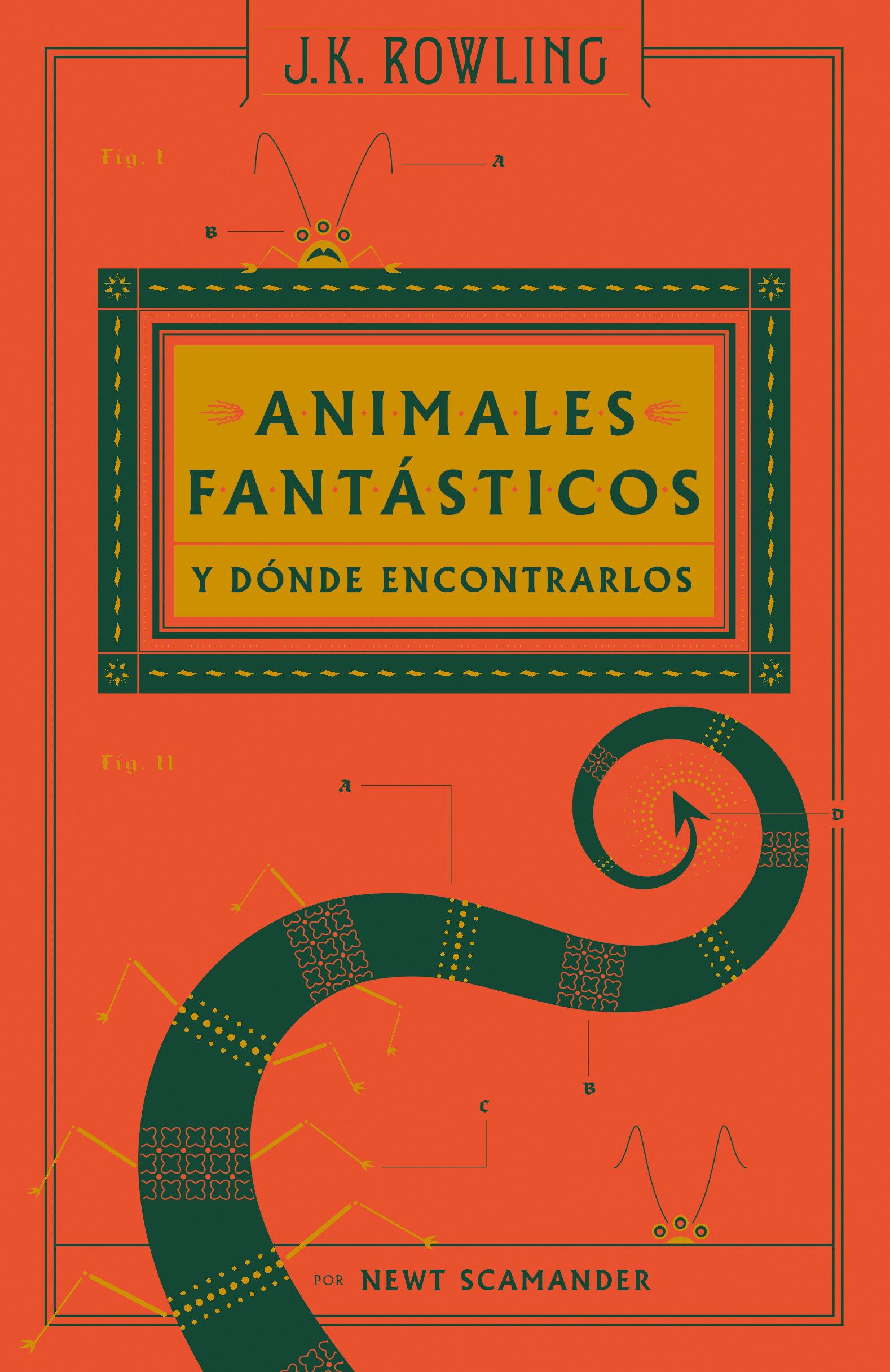 Animales Fantasticos y Donde Encontrarlos - J. K. Rowling - Salamandra