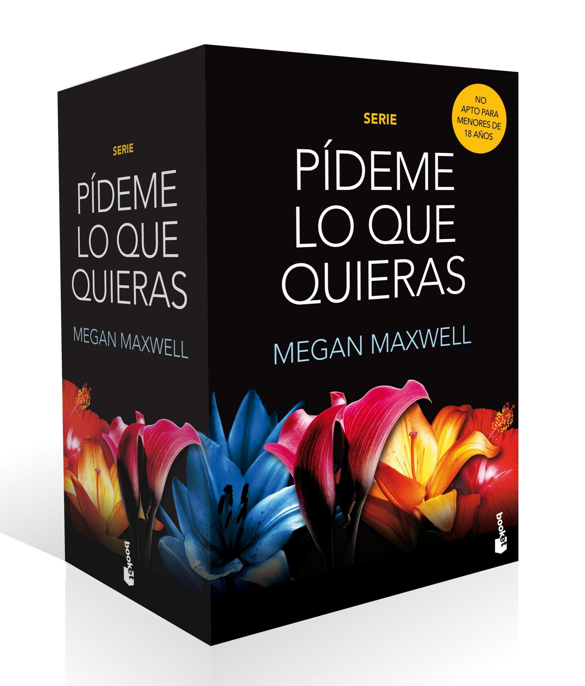 Pack Pídeme lo que Quieras - Megan Maxwell - Booket