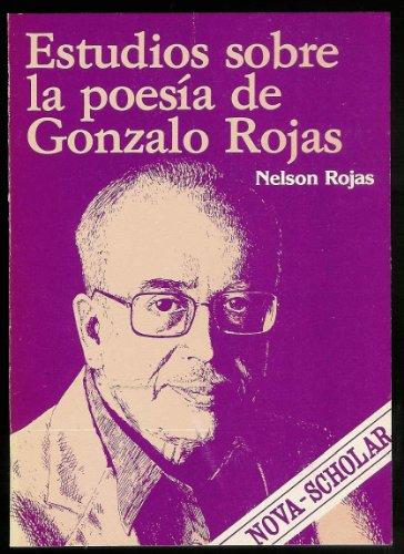 estudios poesia de gonzalo rojas - bloch - playor