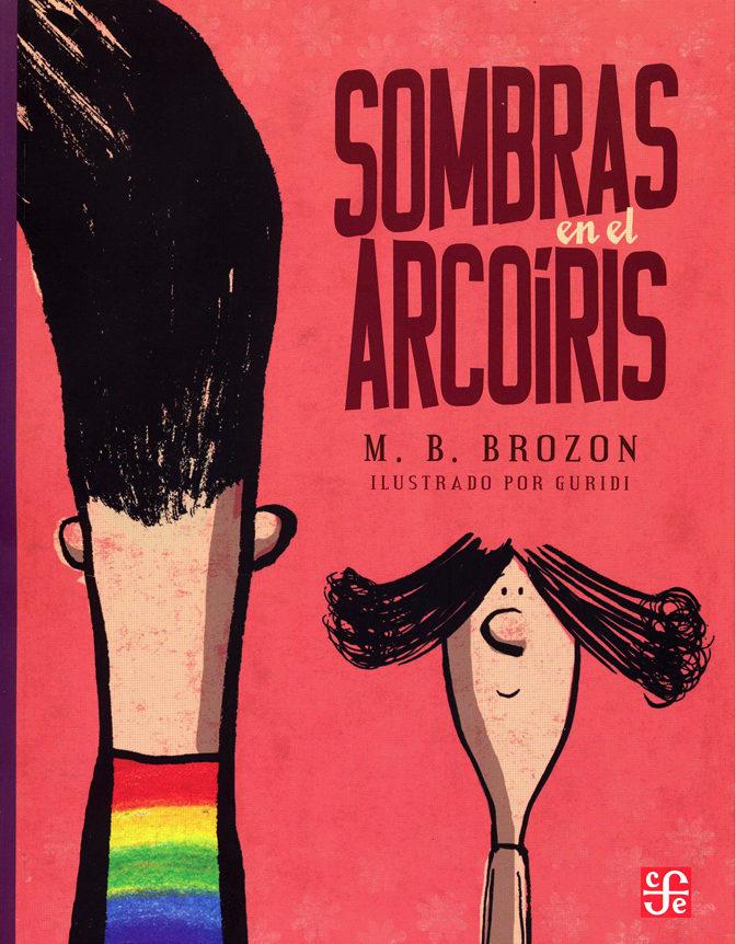 portada Sombras en el Arcoiris (libro en Inglés)