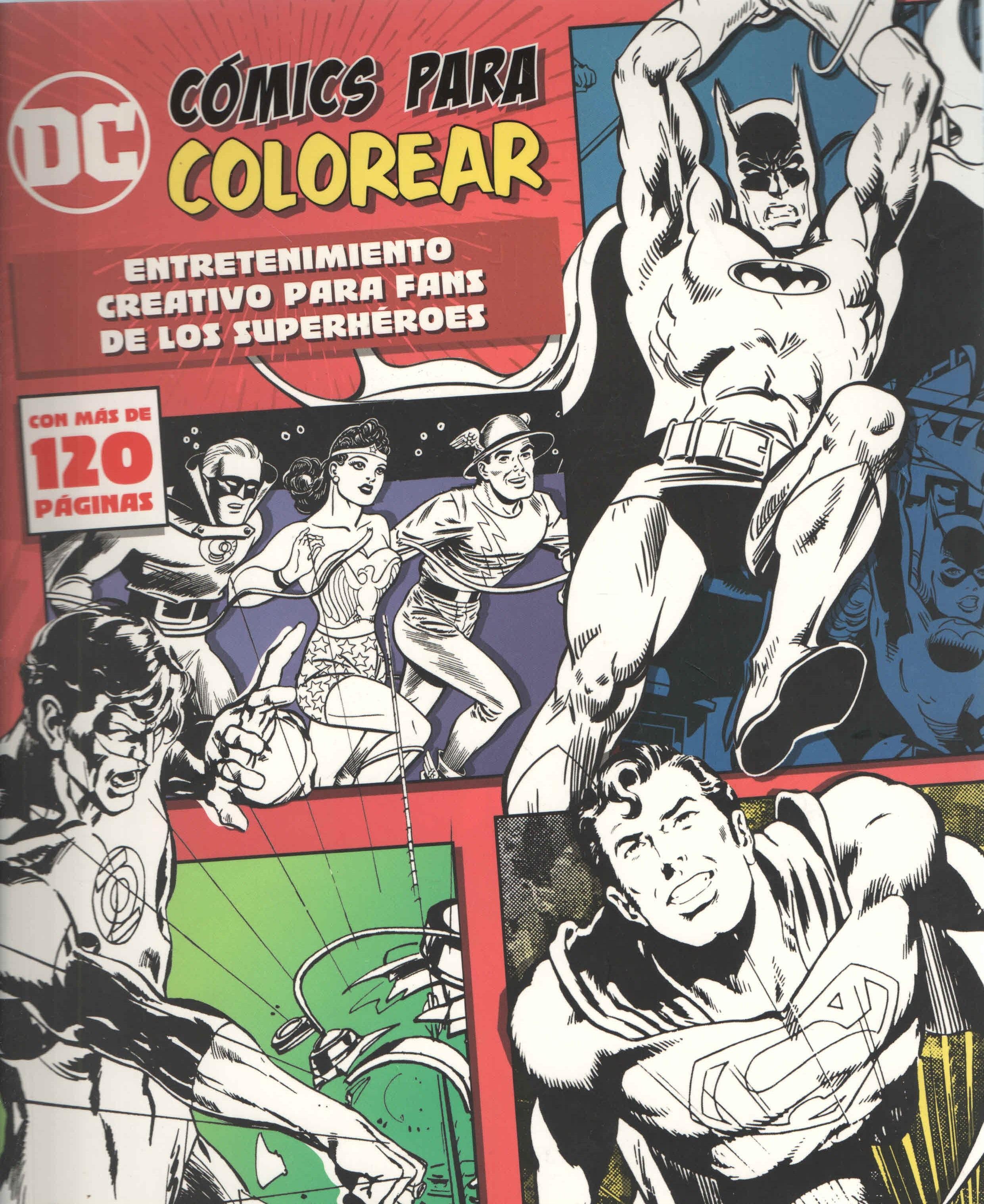 Dc Comics Para Colorear: Batman, Superman - Delivering Ibooks & Design Barcelona - Parragon Book
