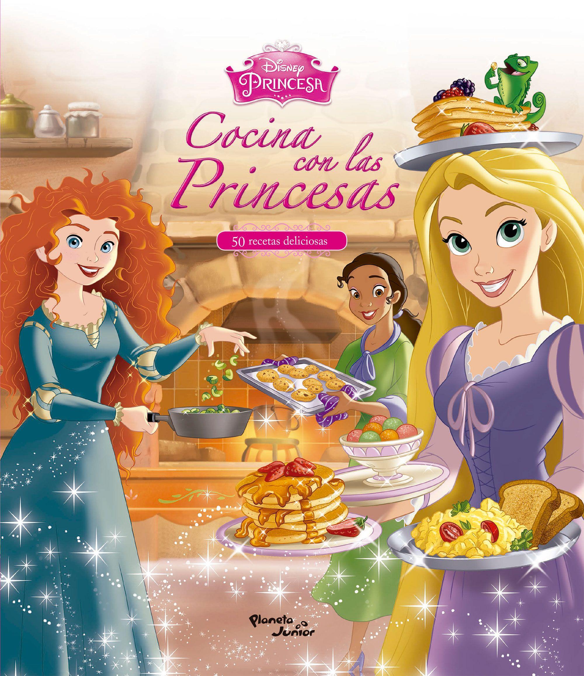 Cocina con las Princesas - Disney - Planeta Junior