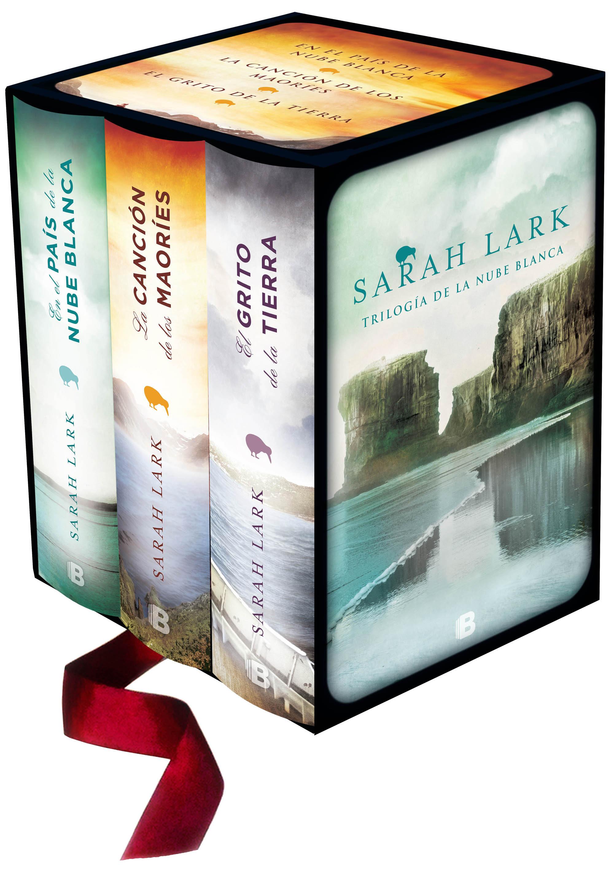 Trilogía de la Nube Blanca (Incluye en el País de la Nube Blanca, la Canción de los Maoríes y el Grito de la Tierra) (Grandes Novelas) - Sarah Lark - B