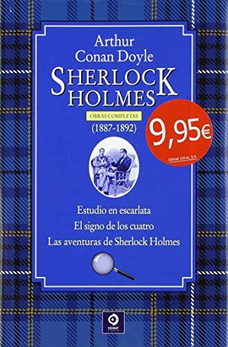 Obras Completas de Sherlock Holmes: Sherlock Holmes  1887-1892