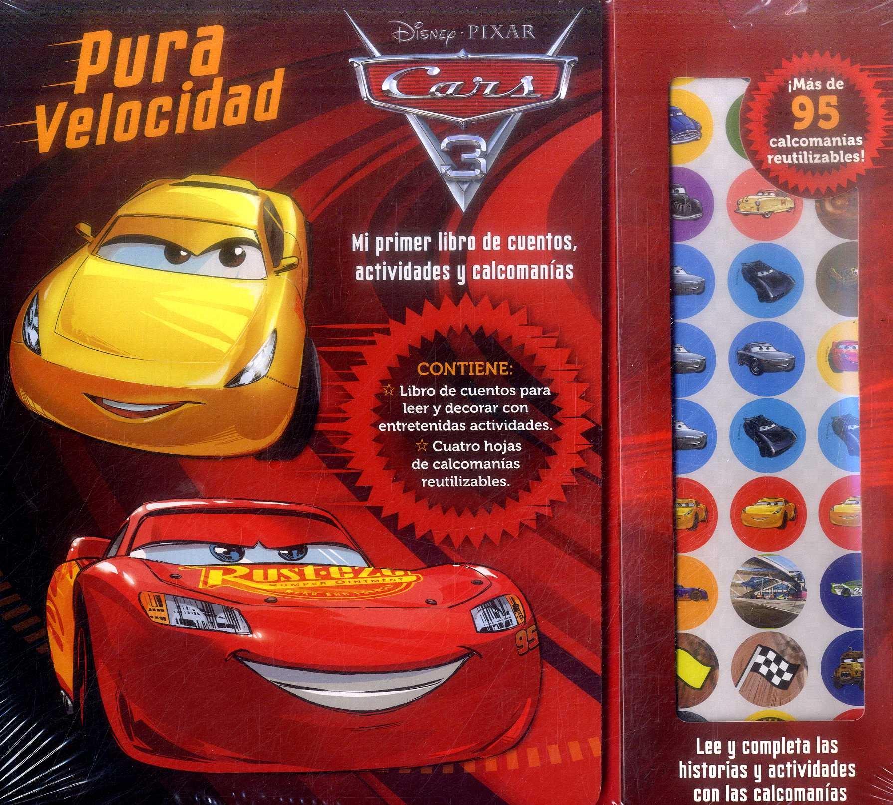 Cars 3 - Pura Velocidad - Disney - M4 Editora