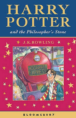 portada harry potter and the philosopher's stone. j.k. rowling