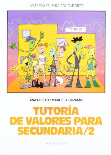 tutoria de valores para secundaria/2 - ana prieto lópez manuela guzmán gonzález - editorial ccs