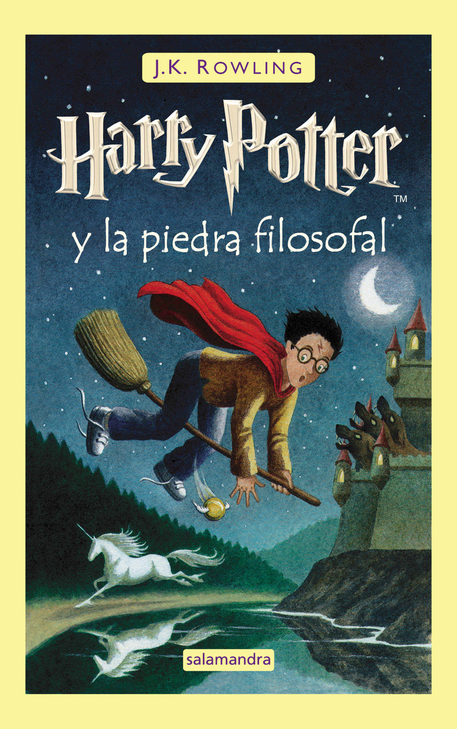Harry Potter y la Piedra Filosofal - J.K. Rowling - Salamandra